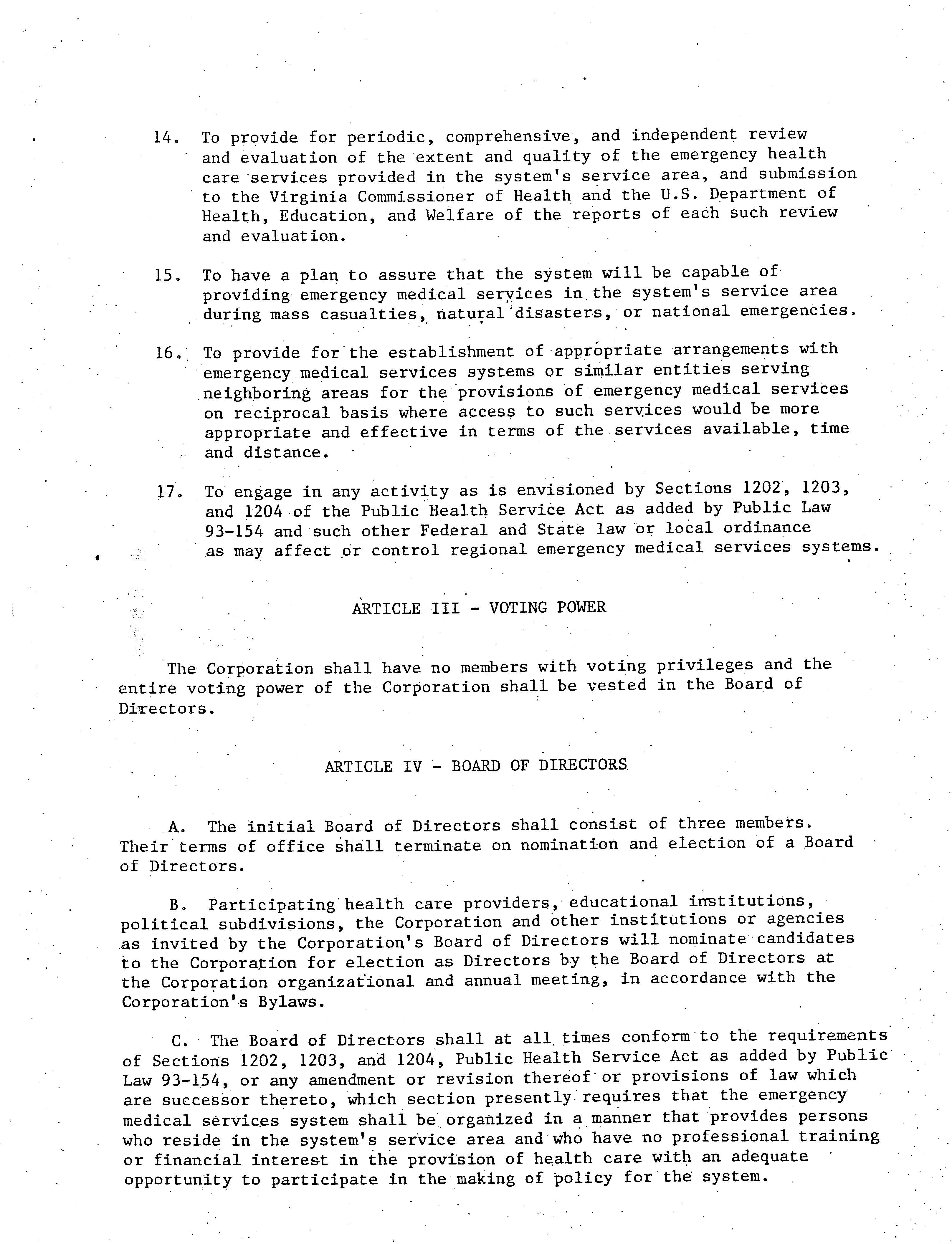 PEMS Articles of Incorporation Page 3