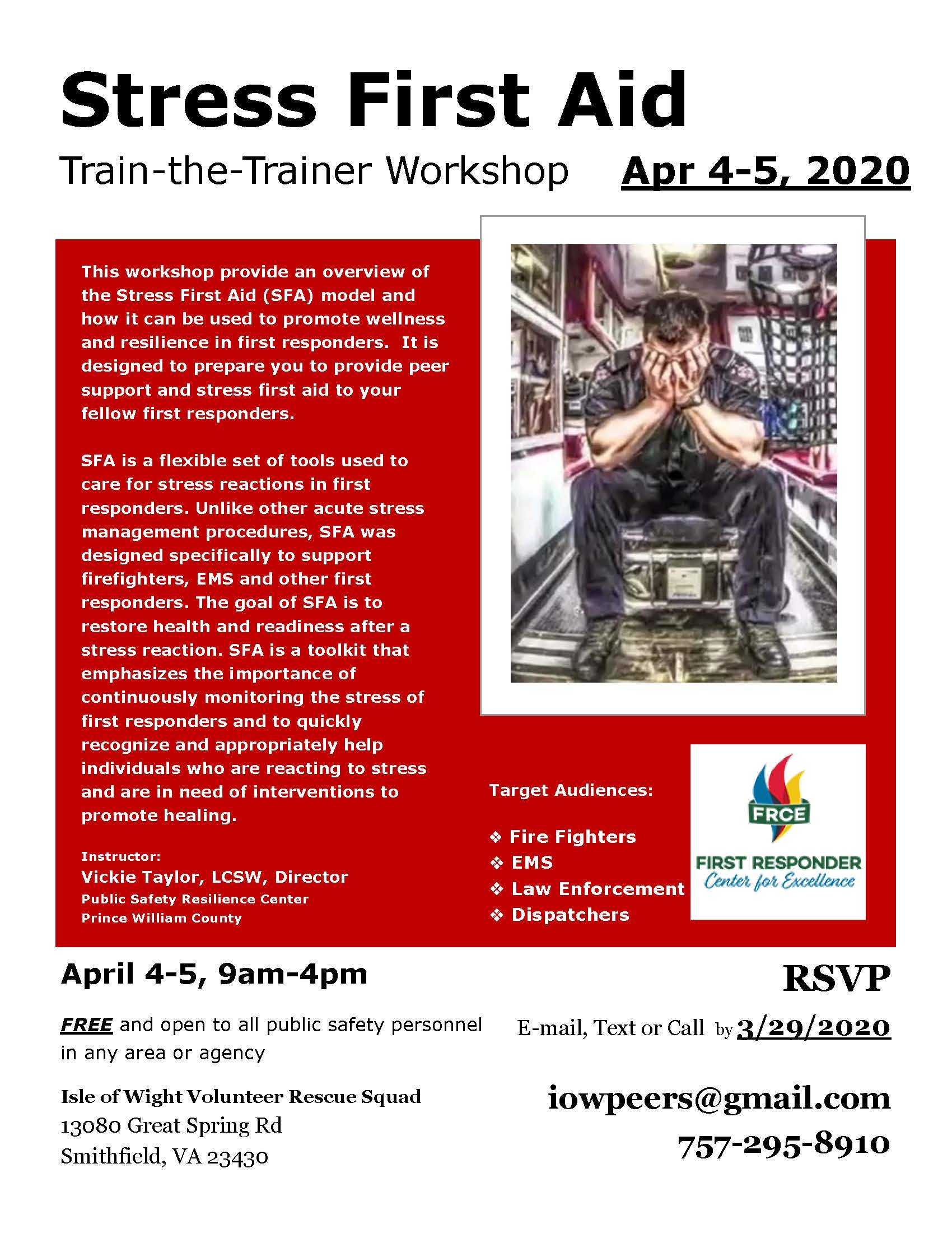 SFA Workshop April 20201